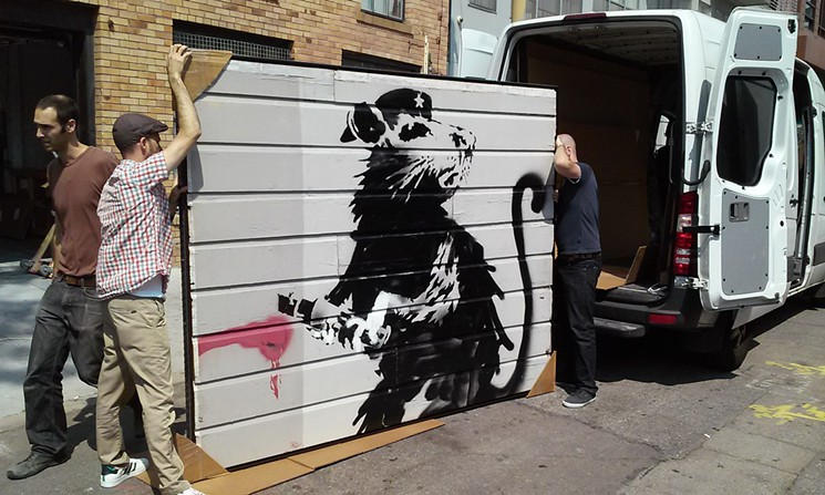 Saving Banksy Movie 2017 Full HD